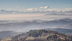 Christmas fog - nebbia di natale (stefanobosia) Tags: landscape paesaggio fujifilm xt20 nebbia fog colline hills italy italia piedmont piemonte canonfd50mmf18 montagne monviso