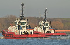 SD Shark + SD Seal (6) @ Gallions Reach 22-02-19 (AJBC_1) Tags: riverthames gallionsreach london ©ajc ship vessel boat england unitedkingdom uk northwoolwich eastlondon newham londonboroughofnewham dlrblog nikond3200 ajbc1 tug tugboat kotug kotugeuropeanharbourtowage sdseal sdshark