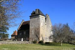 24 St-Front-la-Rivière - Le Pommier (Herve_R 03) Tags: architecture castle château dordogne france aquitaine