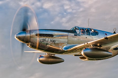 Lopes Hope Golden Glow (jetguy1) Tags: p51c northamericanp51cmustang mustang warbird wwii airplane fighterpilot ace lopeshope