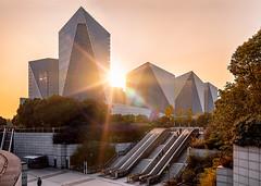Crystal Plaza (rexzou) Tags: arch architect architectural architecture facade famous landmark glass place entrance photography shanghai