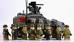 Squad Up! (TierMR) Tags: lego minfigs infantry squad war military army spanish