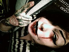 (ashhbash) Tags: tattoo gothic blood piercings pierced
