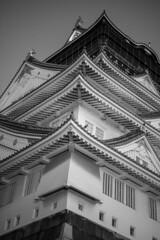 Osaka Castle(大阪城) (Hideki-I) Tags: monochrome bw blackandwhite 白黒 黑白 nikon d850 2470 castle 城 大阪城 大阪 日本 osakacastle