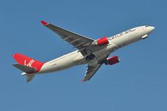 'VS89W' (VS0089) LGW-UVF (A380spotter) Tags: takeoff departure climb climbout gearinmotion gim retraction belly airbus a330 300x gvwnd scarletohara dalpf virginatlanticairways vir vs vs89w vs0089 lgwuvf runway08r 08r london gatwick egkk lgw