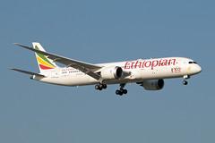 ET-AUQ_20190401_49273_M (Black Labrador13) Tags: etauq boeing 787 b787 7879 dreamliner ethiopian airlines bru ebbr avion plane aircraft vliegtuig airliners civil
