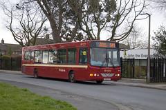 Ribble Heritage back in Bolton. (SD Images) Tags: 2596 arriva arrivanorthwest cx06bjy vdlbus vdl vdlsb200 wrightbus wrightcommander ribblebus ribble100