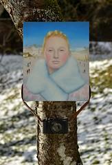 WANGENGLÜHEN . BURNING CHEEKS I (LitterART) Tags: art kunst winter camera fujifilm nikond800 fx painting christophschmidberger austria österreich artist wangenglühen wintermärchen