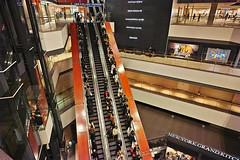 20190303_DP0Q6607 (NAMARA EXPRESS) Tags: travel construction structure escalator night spring indoor color minatomirai yokohama kanagawa japan spp spp661 foveon x3 sigma dp0 quattro wide ultrawide superwide namaraexp