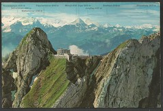 Pilatus-Kulm, Hotel Bellevue (tico_manudo) Tags: pilatuskulm hotelbellevue bernalpen suiza helvetia vintagepostcards
