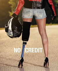 No Credit - meint Doris (Sanseira) Tags: italien italy südtirol bozen kampagne motorradunfall doris behindert amputiert plakat bolzano trentino altoadige sensibilisierungskampagne