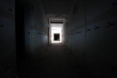 Vers la sortie ... (TomCombal) Tags: galerie underground fort fortification séré de rivières verdun urbex light dark war 19141918 fortress meuse grandest