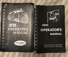 Operator Manuals (C.J.Nova) Tags: railroad locomotive train books troubleshooting instructions engine diesel sd45 gp30 emd