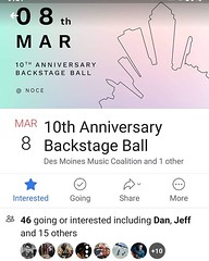 http://bit.ly/2QYYuNj Des Moines Music Coalition, the people 80/35 and Music University, is having their annual fundraiser, The Backstage Ball, on Friday, Mar 8, at Noce in Des Moines! (iowamusicshowcase) Tags: ifttt instagram iowa music bands artists midwest the