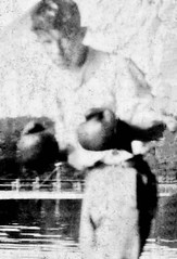 Luther Berry - Boxer (nomad7674) Tags: lou luther berry boxer boxing pugilist vintage bw blackandwhite blackwhite grandpa grandfather maternal restored restoration