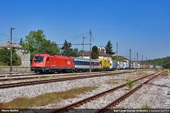 RoLa in Giulia... (Marco Stellini) Tags: obb 1216 rail cargo carrier e190 taurus okombi rola trieste fernetti salzburg alpe adria