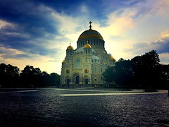 Naval cathedral of St. Nicholas in Kronstadt, Kotlin Island | SPB | Russia | # III (maryduniants) Tags: kotlinisland stnicholas kronstadt russia spb stpetersburg holy orthodox church cathedral naval