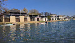 Oxford College boathouses (AnthonyR2010) Tags: oxford college boathouses rowing thames nexus5x
