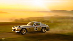 1961 Ferrari 250 GT SWB Berlinetta No.14 (chumako@bellsouth.net) Tags: scapes photomode gtsport ps4pro ps4 playstation gaming cars automóvil vintage 14 berlinetta 250gt ferrari 1961