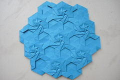 DSCN9188 (Arseni Ko) Tags: origami tesselation paper design geometry symmetry pattern