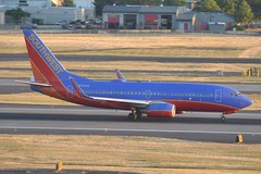 N700GS (LAXSPOTTER97) Tags: southwest airlines boeing 737 737700 n700gs cn 27835 ln 4 airport airplane aviation kpdx