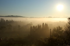 Brume du matin Chateauneuf Grasse (angelo.cda) Tags: canon reflex 700d 18135 stm paca côte azur chateauneufgrasse couleur lumineux nature clarté douceur lumière brume campagne soleil