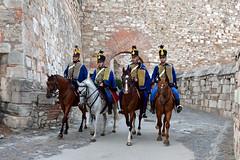 Huszárjárőr a Várban (Péter_kekora.blogspot.com) Tags: budapest buda vár 2018 summer hungary budacastle hussar militaryhistory cavalry nikond7100