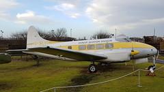 "de Havilland DH.104 Dove 2 c/n 04022 registration G-ALCU preserved as ""G-ALVD"" (sirgunho) Tags: united kingdom england coventry midland air museum preserved aircraft aviation raf rn usaf royal force de havilland dh104 dove 2 cn 04022 registration galcu galvd"