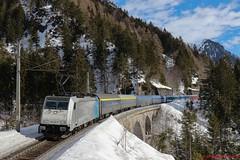 HSL BR 186 292 (Bradley Morey) Tags: hsl br 186 292 railpool wald am arlberg vorarlberg bombardier trainspotting traxx train österreich austria alpen urlaubsexpress uex hamburg bludenz st anton