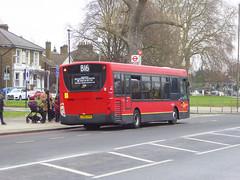 GAL SE61 - YX60DXW - ELTHAM ROAD - SAT 16TH FEB 2019 (Bexleybus) Tags: goahead go ahead london eltham road se9 south east tfl route b16 adl dennis enviro 200 se61 yx60dxw