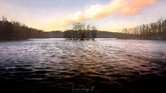 Altered States (Simmie | Reagor - Simmulated.com) Tags: 2019 cheshire connecticut connecticutphotographer d750 february fortnathanhale landscapephotographer longexposure naturephotographer newengland newhaven nikon northeast panorama pier winter digital reservoir water greatphotographers