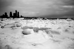 gw690; lake turn to Giant Ice (Uta_kv) Tags: fujifilm mediumformatcamera frozenlake ice slides gw690 film lakeontario provia100f