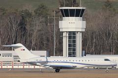 Bombardier BD-700-1A10 Global Express OE-ILK Laudamotion (mm-photoart) Tags: bombardier bd7001a10 global express oeilk laudamotion lszb brn bern belp belpmoos airport switzerland