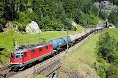 Wassen Re4/4Ⅱ (akifumiふぐ) Tags: re420 re44 sbb gotthard wassen locomotive