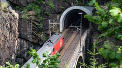 SBB Re 460 108 Obere Meienruess-brucke, Wassen 09 July 2015 (1) (BaggieWeave) Tags: switzerland swiss swisstrains swissrailways wassen gotthardrailway gotthard gotthardbahn sbb cff ffs re460 uri