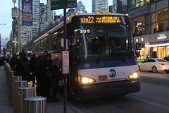 IMG_4681 (GojiMet86) Tags: mta nyc new york city bus buses 2008 d4500ct 2217 sim22 42nd street 6th avenue