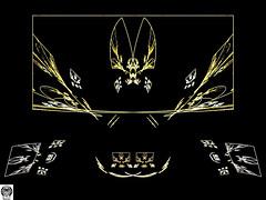 068_00-Apo7x-190218-5 (nurax) Tags: fantasia frattali fractals fantasy photoshop mandala maschera mask masque maschere masks masques simmetria simmetrico symétrie symétrique symmetrical symmetry spirale spiral speculare apophysis7x apophysis209 sfondonero blackbackground fondnoir