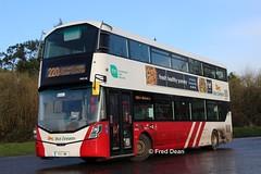 Bus Eireann VWD86 (172L1188). (Fred Dean Jnr) Tags: buseireann volvo b5tl wright eclipse vwd86 172l1188 carrigaline cork march2019 gemini3 wrightbus ballinrea