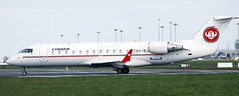 Canadair CRJ-200 OY-RJG (707-348C) Tags: dublinairport dublin eidw passenger airliner jetliner canadair canadaircrj200 crj2 cimberas oyrjg cimber cim ireland 2011 dub crj200 bombardier