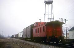 CB&Q Waycar Class NE-9 13804 (Chuck Zeiler 48Q) Tags: cbq waycar class ne9 13804 burlington railroad caboose hinckley train chuckzeiler chz