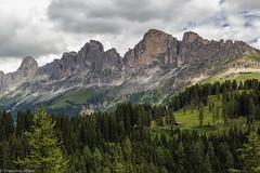 Muraglia (cesco.pb) Tags: catinaccio valdifassa dolomiten dolomiti dolomites passocostalunga trentinoaltoadige italia italy alps alpi canon canoneos60d tamronsp1750mmf28xrdiiivcld montagna mountains