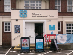 March 20th, 2019 Our local Co-op has had a makeover (karenblakeman) Tags: southviewvenue caversham uk coop shop building march 2019 2019pad reading berkshire