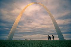Gateway Arch at Sunset (jtgfoto) Tags: gatewayarch arch stlouis missouri gatewaytothewest architecture architecturalphotography sonyimages sonyalpha rokinon rokinon12mm wideangle wideangleshot sky gatewayarchnationalpark evening dusk clouds