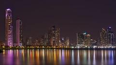 Panamá city (karinavera) Tags: 50mm city longexposure night photography cityscape urban ilcea7m2 sunset panama