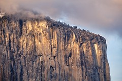 The Captain (RyanLunaPhotography) Tags: ngc capitan yosemite tunnel view granite national park california rock trees fuji fujifilm landscape 55200 telephoto