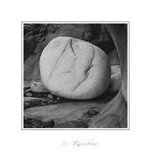"""Worn Out"" - Nanven, Cornwall (Joe Rainbow) Tags: landscape mono bw coast nanven cornwall boulder mamiyarz67proii film filmisnotdead pancro400 6x6 rock geology"