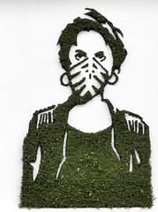 Mister Ride - Rester muet (Thethe35400) Tags: artderue arteurbano arturbain arturbà arteurbana calle fresque grafit grafite grafiti graffiti graffitis graff mural murales muralisme plantilla pochoir stencil streetart schablone stampino tag urbanart wall végétal vegetal green