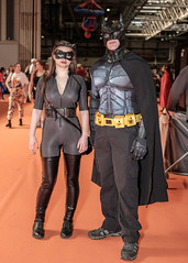 Batman & Catwoman (timz2011) Tags: batman catwoman mcmbirminghamcomicconmarch2019sunday mcmbirminghamcomicconmarch2019 mcm comiccon cosplay anime gaming film clmic