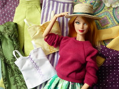 Bring in Spring! (*SquishTish*) Tags: doll clothes fashion style outfit miniature 16 squishtish spring summer color