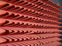 Electro-Draught Excluder (failing_angel) Tags: 091118 london kensingtonchelsea kensington designmuseum homefutures soil homeofthefuture electrodraughtexcluder placeboseries dunneraby